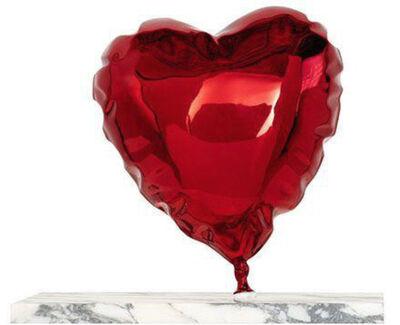 Mr. Brainwash, 'Balloon Heart-Chrome Red', 2020