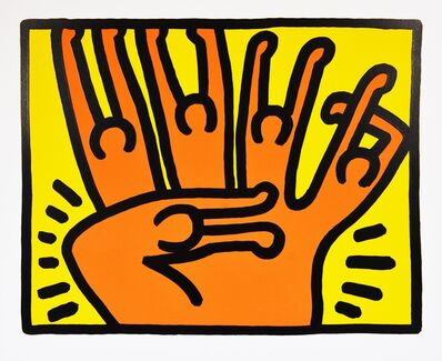 Keith Haring, 'Pop Shop 6', 1989