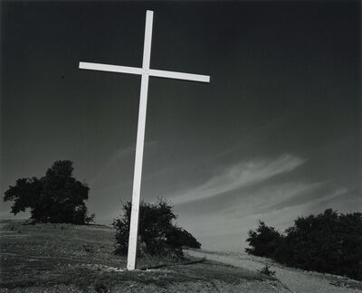 Ansel Adams, 'Cross, San Rafael, California', 1932