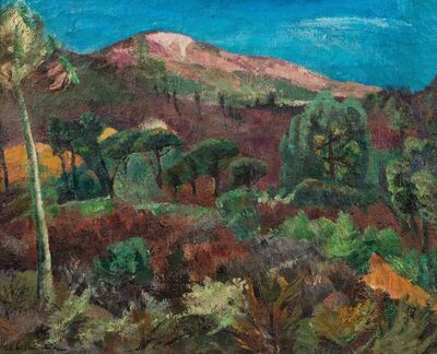 Willy Eisenschitz, 'Colline de Ramatuelle, Var'