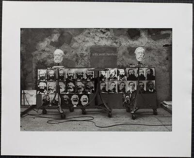 Sibylle Bergemann, 'Das Denkmal, Gummlin, Usedom, Frühjahr 1976', 1988