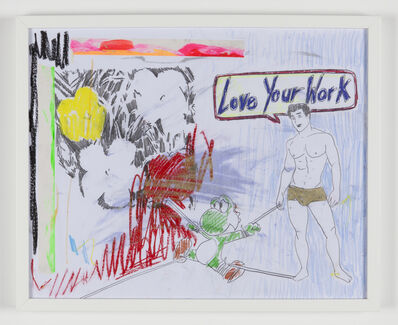 Michael Pybus, 'LOVE YOUR WORK', 2016