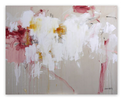 Daniela Schweinsberg, 'A Breath of Summer II (Abstract Expressionism painting)', 2019