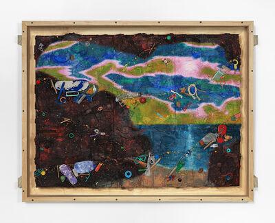 Ashley Bickerton, 'Padang Moon 2', 2020