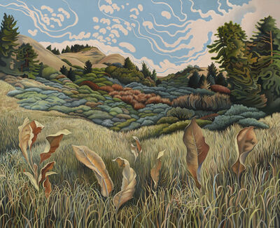 Phyllis Shafer, 'Autumn Started Home', 2019