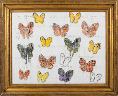 Hunt Slonem, 'Butterflies', 2020