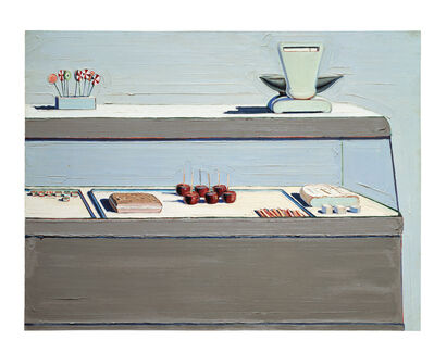 Wayne Thiebaud, 'Candy Counter', 1962