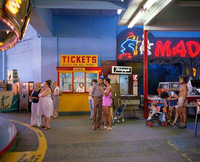 Joe Maloney, 'Casino, Asbury Park, New Jersey', 1980