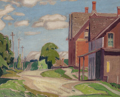 Alfred Joseph Casson, 'In Lloydtown', 1932