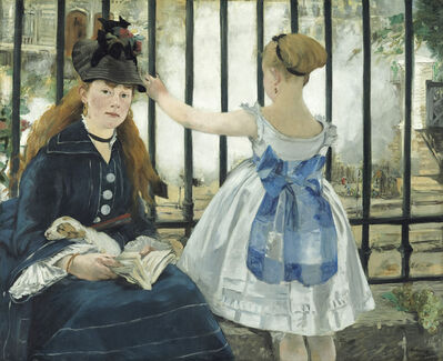 Édouard Manet, 'The Railway', 1873