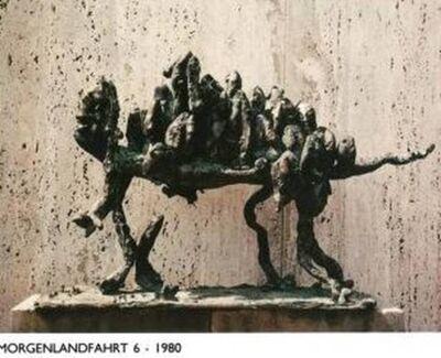 Franz Falch, 'Morgenlandfahrt, Journey to East', ca. 1980