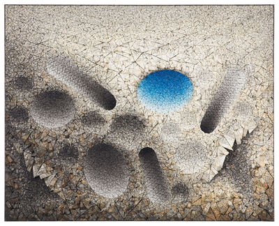 Chun Kwang Young, 'Aggregation 12 -JA002 Blue', 2012