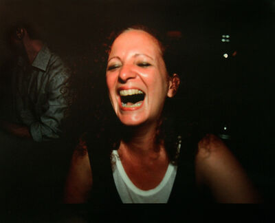 Nan Goldin, 'Self portrait laughing', 1999