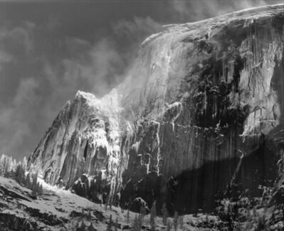 Ansel Adams, 'Half Dome with Blowing Snow', ca. 1955