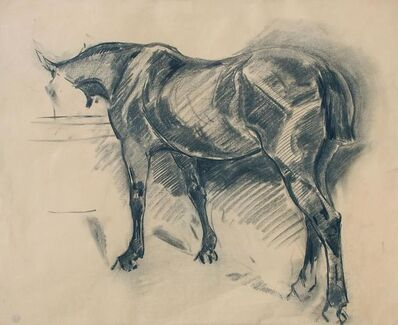 Robert Bevan, 'Horse in a Stall', 19th Century