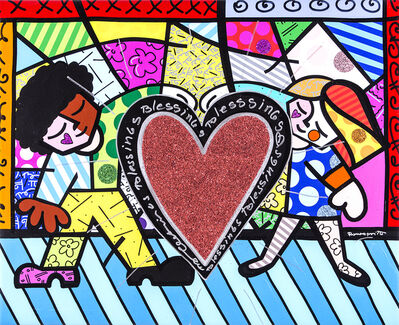 Romero Britto, 'Children', 2018
