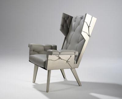 Kranen / Gille, 'Fredersen Grey Wingchair', 2008