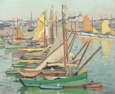 Albert Marquet, 'Le port des Sables-d'Olonne', 1921