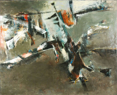 John Saccaro, 'Raid Sensory', 1957