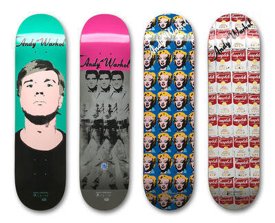 Andy Warhol, 'Set of 4 Skateboard Decks', ca. 2011