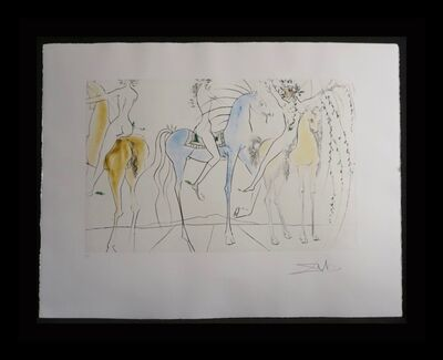 Salvador Dalí, 'Hamadryades Mimetiques Arborescentes', 1971