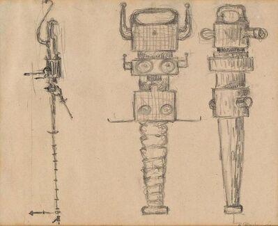 Richard Stankiewicz, 'Study for Sculpture (Untitled) ', ca. 1968