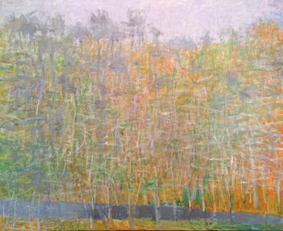 Wolf Kahn, 'Tending Towards Orange', 2007