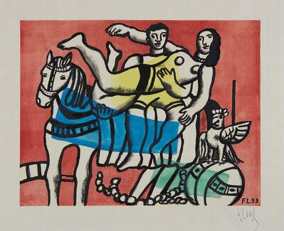 Fernand Léger, 'La parade', ca. 1953