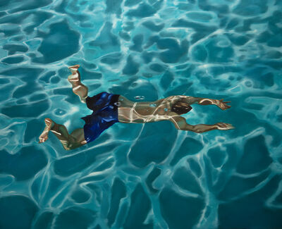 Eric Zener, 'Quarantine in Blue', 2020