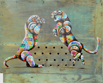 Louis Masai, 'The cats cradle', 2019