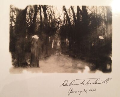 "Deborah Turbeville, 'Winter in the Park of Versailles, from ""Unseen Versailles""', 1980"