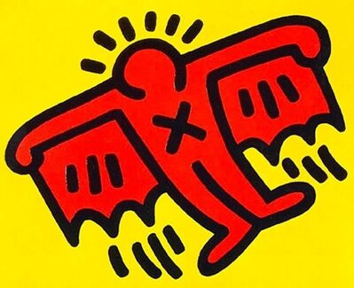 Keith Haring, 'X-Man from Icons', 1990