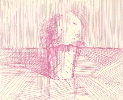 Wayne Thiebaud, 'Pink Cone', 1995