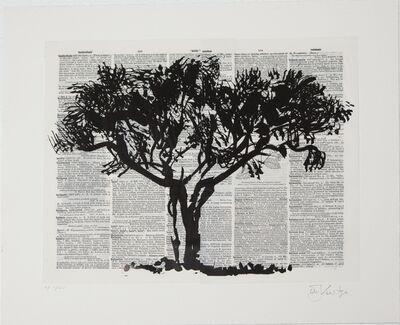 William Kentridge, 'Black Monkey Thorn', 2012