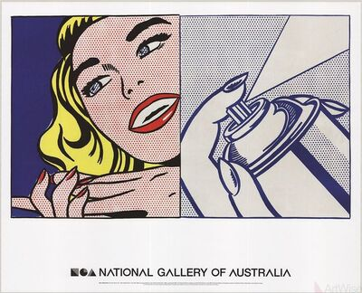 Roy Lichtenstein, 'Girl and Spray Can', 2013