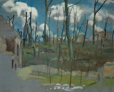 Eric Kennington, 'Bourlon Wood', 1919