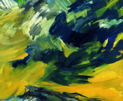 Bernd Zimmer, 'Wolkenauflösung (Himmelbilder)', 1991