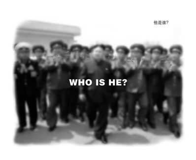 Wang Guofeng, 'WHO IS HE?', 2012