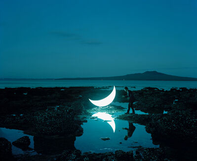 Leonid Tishkov, 'Private Moon in New Zealand near volcano Rangitoto', 2012