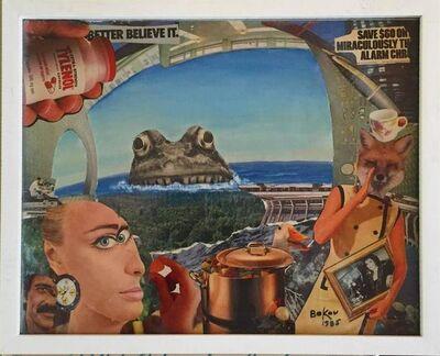 Konstantin Bokov, 'Untitled (Monster, Better believe it)', 20th Century