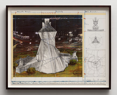 "Christo, 'Wrapped Fountain (Project for ""La Fontana de Jujol"")', 2009"