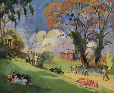 Ludovic-Rodo Pissarro, 'Kew Gardens', ca. 1918