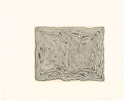 James Siena, 'Twisting Slab', 2007