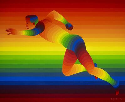 Ay-O, 'Olympic Men's 100m ', 1992