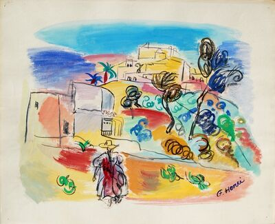 Florence Henri, 'Paysage (Espagne), ', 1940-1950