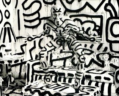 Annie Leibovitz, 'Keith Haring', 1986