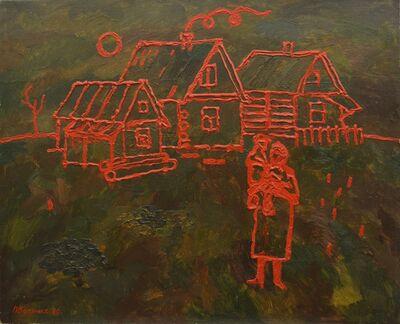 Vadim Semenovich Velichko, 'Village Madonna', 1990