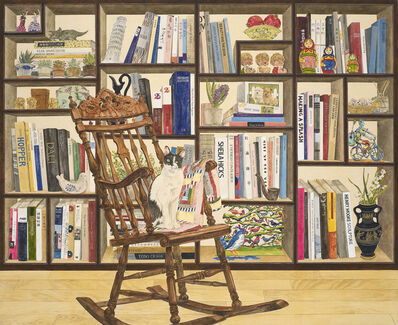 Jungeun Lee, 'Bookshelf and stories', 2017