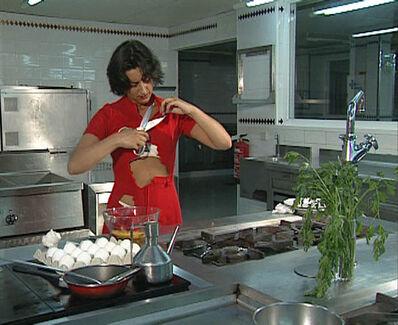 Pilar Albarracin, 'Tortilla a la española', 1999