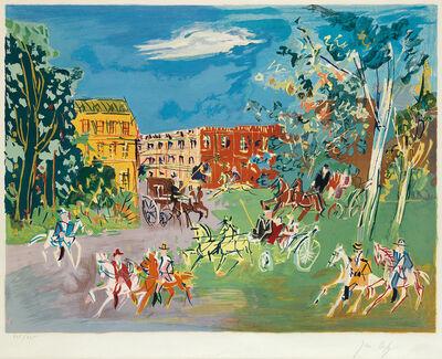 Jean Dufy, 'Bois du Boulogne', circa 1950